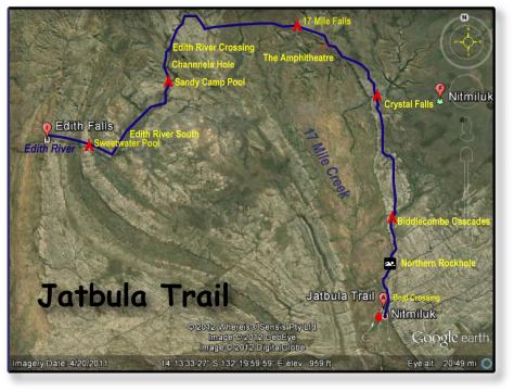 Jatbula Map