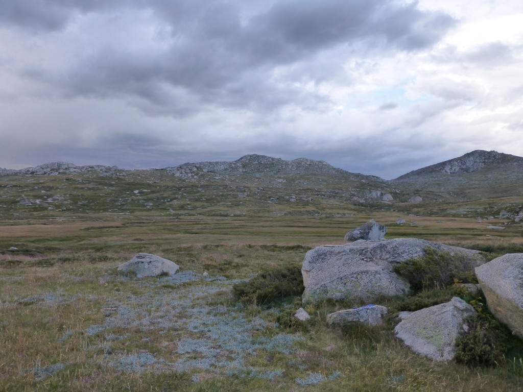 Storm over Wilkinson Valley. Kosciuszko NP