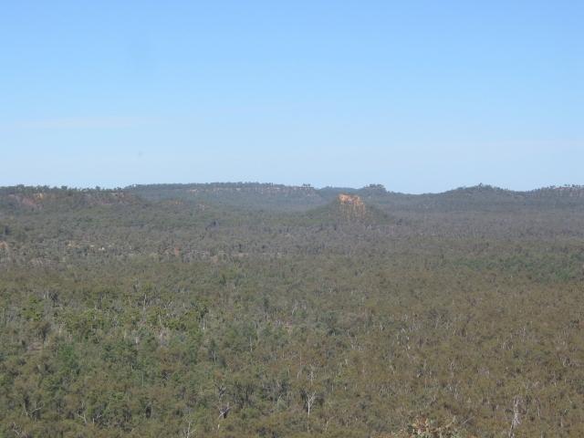 Mesa and Butte landscape in Jurassic sandstones.
