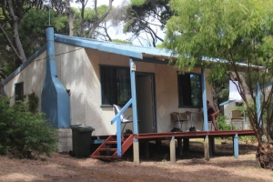 Our Fibro Majestic Beach Cabin.