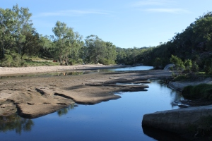 Campsite on Flinders River