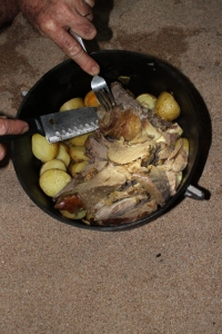 The Camp Oven Roast
