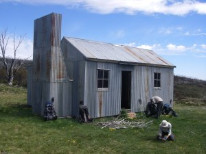 The new O'keefes Hut