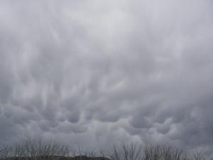 Mammatus cloud.