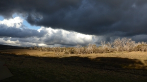 Photo Linda Gregory: A dark and stormy afternoon