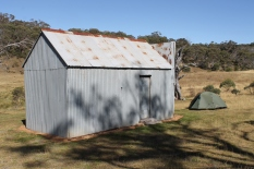 Hainsworth Hut and Salewa tent
