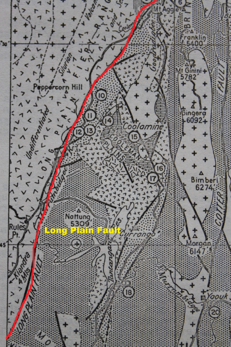 Source: Dept. National Dev. Long Plain Geology