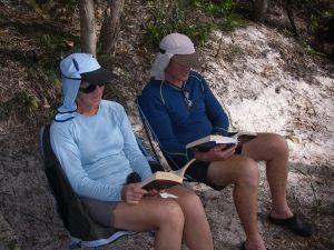 Beachfront at Campsite 13