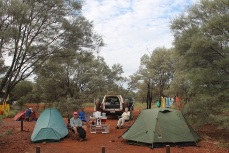 Day's end @ Dales Gorge Campground, Karijini National Park.
