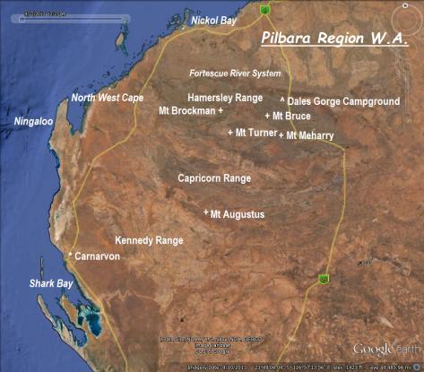 Pilbara region WA