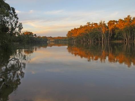 A quiet reach in Murray Sunset National Park