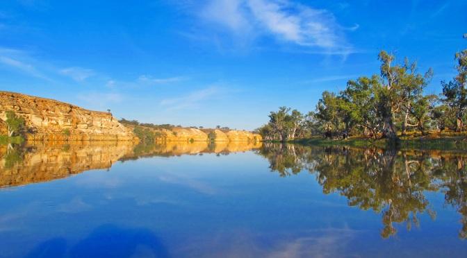Paddling Australia's mighty Murray River.