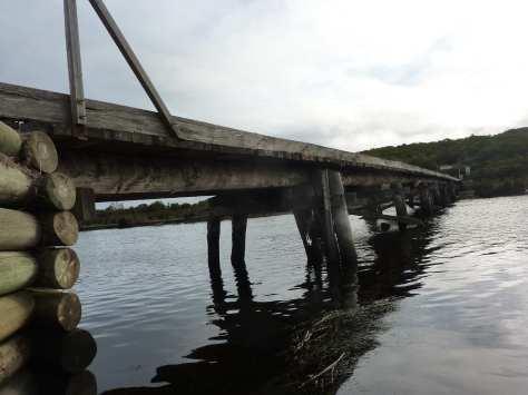 Aire River bridge.