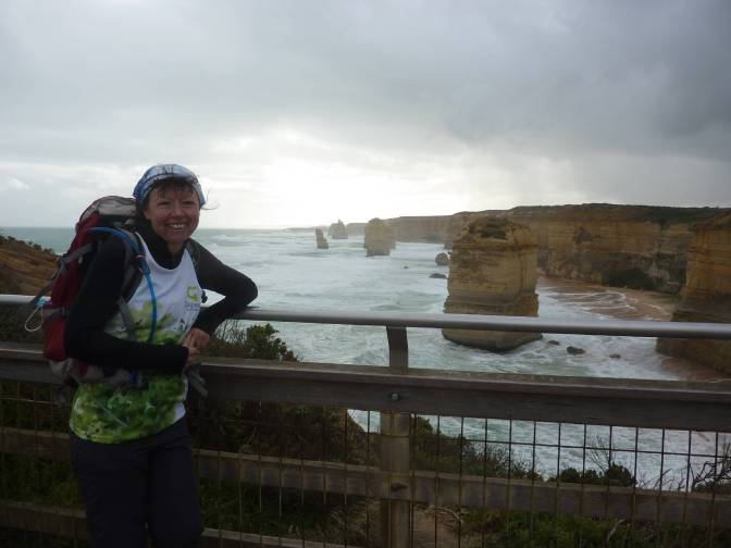The Great Ocean Walk …. sun,surf and sleet.