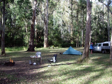 Evening at our camp ground