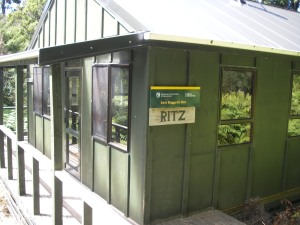 The Ritz. East Rugged Hut.