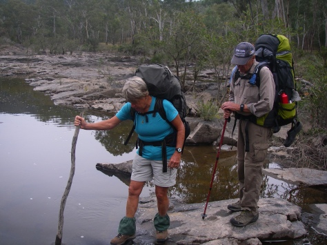 Innumerable river crossing
