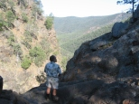 View down Mt Donaldson Ck: Sundown NP.