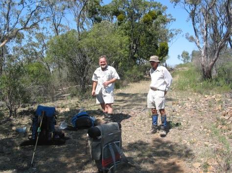 4WD track on crest of Roberts Range