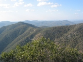 View from Mt Donaldson to The Razorback