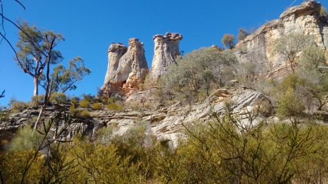The Chimneys, Mt Moffatt Qld