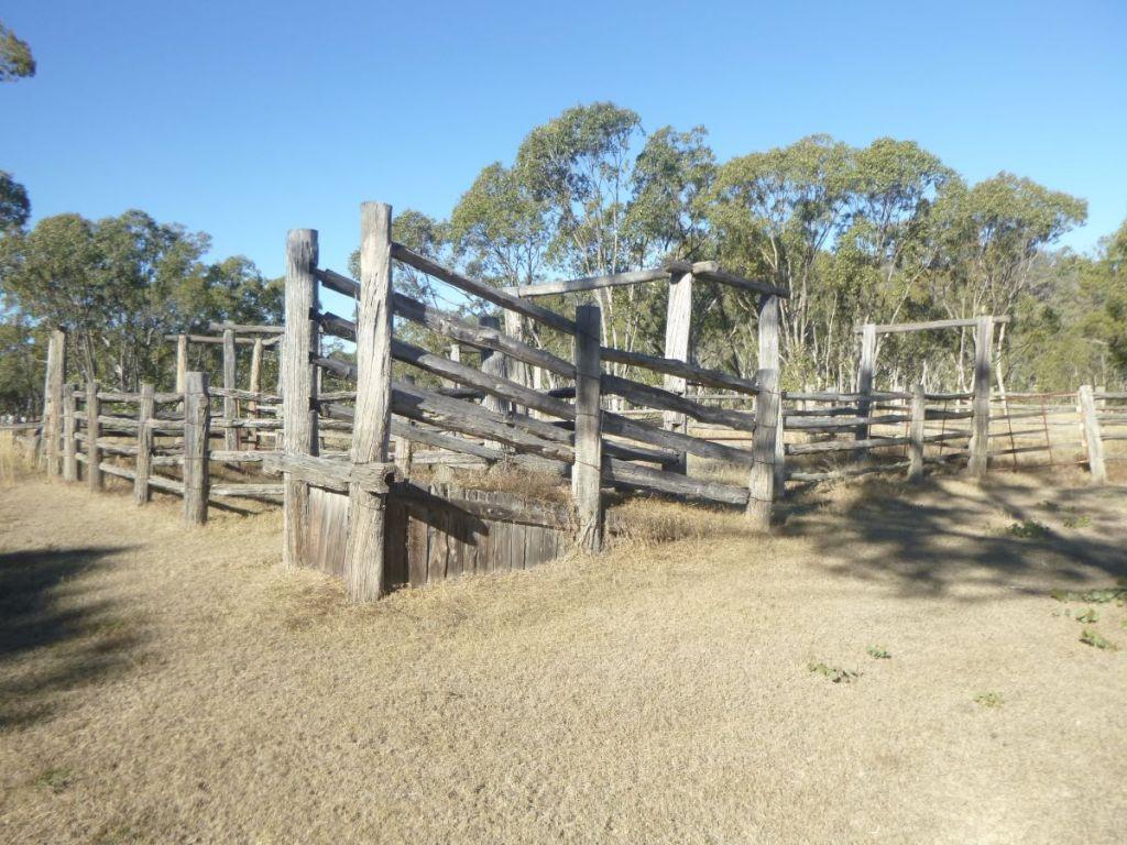 Old cattle yards, Mt Moffatt.